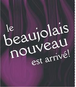 Beaujolais Nouveau Happy Hour!
