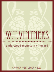 W.T. Vintners Gruner Veltliner (image from website)