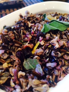 Blueberry Wild Rice Stuffing